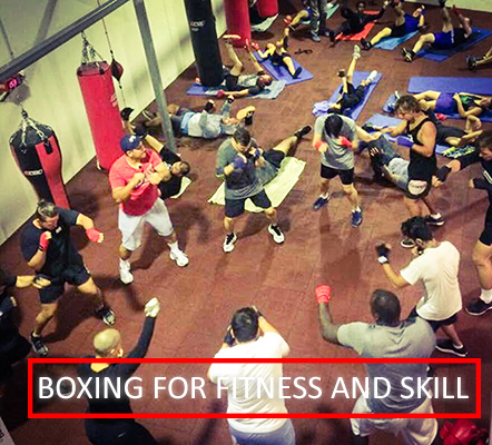 Boxing Fitness Skill